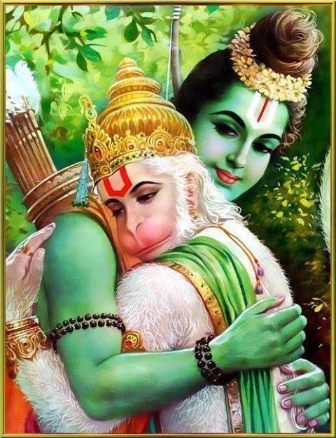 Hanuman, The best devotee of Shri Rama